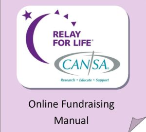 CANSA Relay For Life Online Fundraising Manual